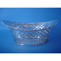 an antique Dutch silver bonbon dish