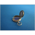 an antique gilt silver picture pendant