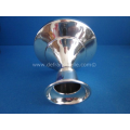 a small Dutch silver candlestick