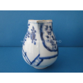 an 18th century Chinese blue and white porcelain milk jug