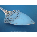 a fine Dutch silver art nouveau open worked cake server