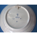 an earthenware Porceleyne Fles plate
