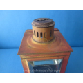 an antique tinplate Verkade tealight