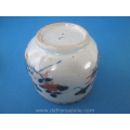 an antique Chinese imari porcelain jar