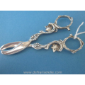 an antique Dutch silver grape scissors