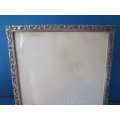 a vintage Dutch silver picture frame