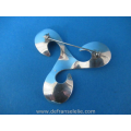 a vintage sterling silver brooch