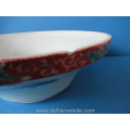 a large antique Japanese imari covered bowl