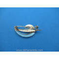 a vintage Dutch 14ct gold brooch