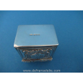 a vintage Dutch silver engraved snuff box