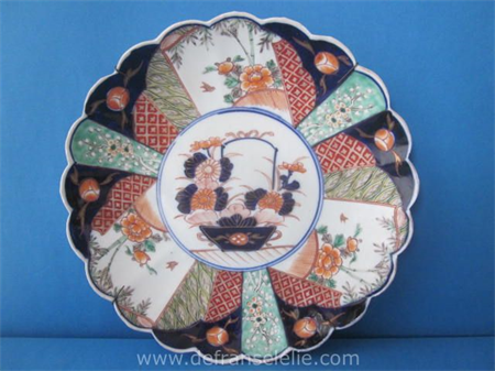 a late 19th century Japanese porcelain charger