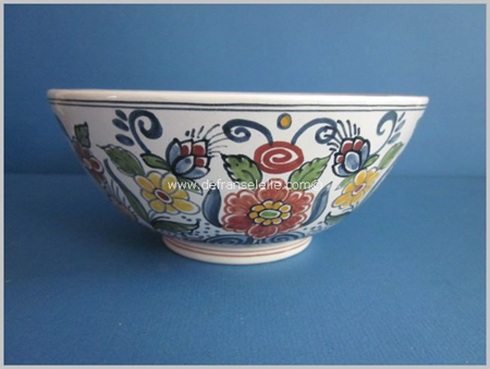 an earthenware hand painted Altena & Krooyenga bowl