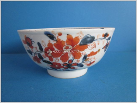 an antique Chinese imari porcelain bowl