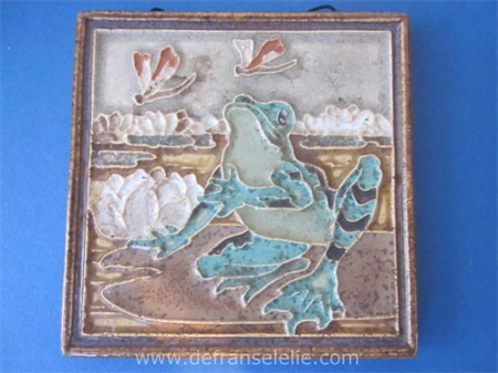 a Dutch Delft Porceleyne Fles tile