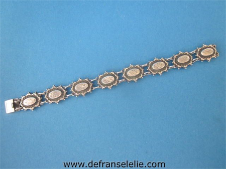 a vintage Dutch silver ladies bracelet