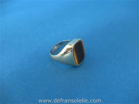 a vintage 14ct gold men's ring