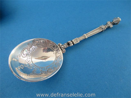 a vintage Dutch sterling silver travel cutlery