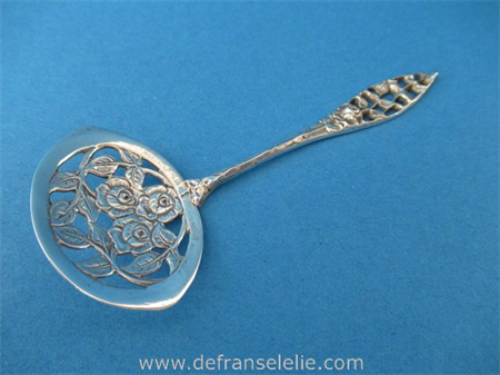 an antique Dutch silver pastry serving scoop