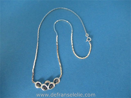 a vintage Dutch silver necklace