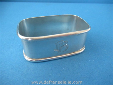 a vintage Dutch silver napkin ring