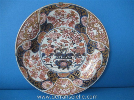 a fine early 18th century Japanese ko-Imari plate